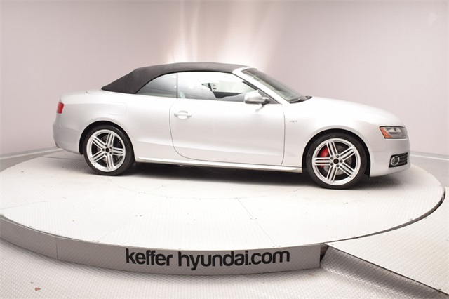 Pre Owned 2010 Audi S5 30 Cabriolet Prestige 2d Convertible In